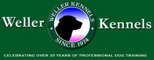 Weller Kennels Dog training New Bern NC