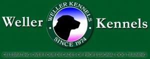 weller kennels - dog training